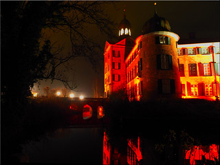 The Eutin Castle at night