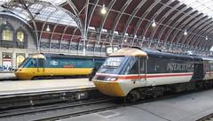 43185 & W43002 at  Paddington (kitmasterbloke) Tags: trainlocomotiverailway railroad outdoor uk