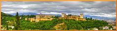 Panorama de  la Alhambra  desde el Mirador de San Nicols (ferlancor) Tags: granada andaluca panorama