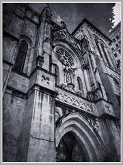 The Facade of San Fernando Cathedral (photo.po) Tags: sanantonio sanantoniotx tx catholic catholicchurch catholiccathedral sanfernandocathedral architecture gothic iphone iphone6
