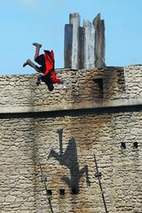 Puy du Fou chevalier armure chateau cascade - atana studio (Anthony SÉJOURNÉ) Tags: puy du fou chevalier armure chateau cascade atana studio anthony séjourné