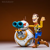 BB-8 : Looking at Infinity and Beyond! (Randy Santa-Ana) Tags: bb8 sphero spherobb8 spherobattlewornbb8 starwars theforceawakens revoltech revoltechwoody woody toystory disney
