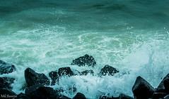 Splash..Splash..Splash (mikbanerjee) Tags: mik mikbanerjee meaningful pondicherry madras chennai tamilnadu canon1300d canon canondslr canonrebelt6 cinematic cinemascope cloudy seabeach sea searocks seashore water waterdrops splash rocks cold deep ocean indianocean wave waves amateurphotography beginner southindia indiatravel indiatour 55250 mm