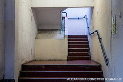 Stairwell - Anglia Square (Alexandra Bone Photography) Tags: alexandra alexandrabonephotography bone norfolk photographer wwwalexandrabonecouk norwich streetphotography oldcity winter angliasquare
