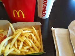 Fries with that (Dan_DC) Tags: fried sodium fries mcdonalds fastfood restaurantindustry lunch
