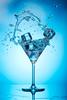 Flash duration test 2 (martin wilmsen) Tags: triggertrap highspeed flash skyport elinchrom quadra glass splash icecube strobist productshot studio nikon 105mm d800e