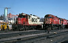Ready to Swap (ac1756) Tags: cp cprail canadianpacific soo sooline mlw alco c424 4200 emd gp9 2403 saultstemarie ontario canada