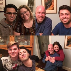 Faces of Christmas (KFiabane) Tags: pablo addie mike carlos matt jose krista home bethesda christmas