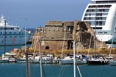 Roman dock (Yuri Rapoport) Tags: themediterraneansea 2013 civitavecchia lazio italy