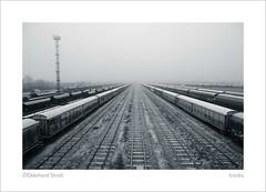 tracks (ekkiPics) Tags: eisenbahn fluchtpunkt schienen vanishingpoint raioadtracks winter frost garedestrasbourg