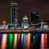 Minsk Skyline (martintimmann) Tags: lights night minsk availablelight e belarus longexposure variotessartfe41635 water