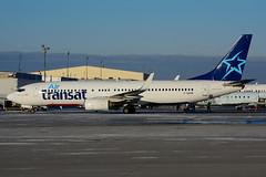 F-GZHE (Air Transat) (Steelhead 2010) Tags: airtransat boeing b737 b737800 freg fgzhe yhm transavia