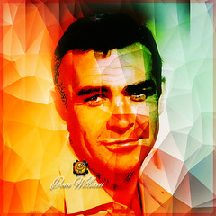 Sean Connery (domwillsales) Tags: sean connery fanart photoshop 007 james bond