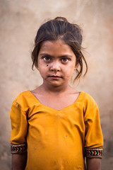 Portrait (Harshal Orawala) Tags: india gujarat girl portrait 121clicks natgeo eyes yellow kutch