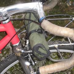 It leaves a teeny bit of clearance for the v-brake arms (Tysasi) Tags: 11x8 rando rack porteur mountainhack trek 820 650b randonneuse randonneur bike nokian a10 hakkapelitta cargobike mountaintrack