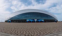 Ice Dome Bolshoi (DVchigarev) Tags: ice dome hockey olympic park sky clouds panorama canon 70d 24105 l usm subtropical