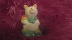 Glücksschwein Figur VIEL GLÜCK (Stepas-piglets) Tags: schwein schweine glück glücksbringer happy new year schweinchen pig pigs figur keramik nippes fliegenpilz