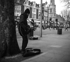 Project 365; #61; Max the Street Guitarist (iMalik1) Tags: project 365 photoadaychallenge project365days days project365 photoaday photo day challenge pictureoftheday photooftheday picoftheday imageoftheday photographoftheday oneimageaday onepicaday onepictureaday onephotoaday onephotographaday street photography black white blackandwhite monochrome monotone town centre towncentre max guitar music performer performance melody homeless ealing photographer ealingphotographer imalikphotography imalik noisy grainy canon eos 600d canoneos600d mycanon after work walking home night time sunset canonwhatelse canonuk uk canonphoto canonphotos photos