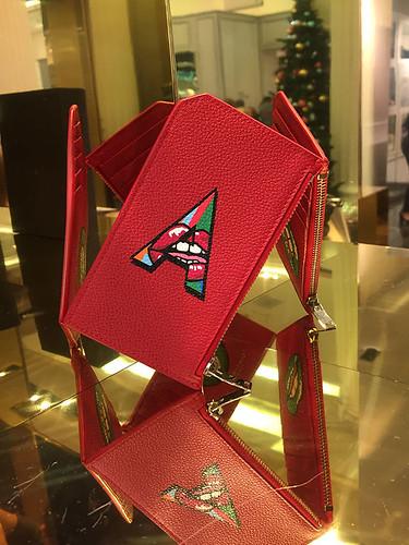 Alphabet prime A red wallet 2