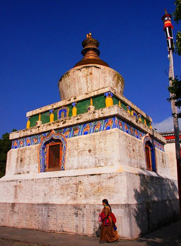 Shrine in Kumbum Monastery