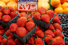 I'm thinking Daiquiri. What are you thinking? (Let Ideas Compete) Tags: pikeplacemarket market publicmarket strawberry strawberries