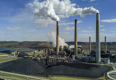 AEP Power Plant (player_pleasure) Tags: aep electric coal power plant industrial manufacture steam sky mavicpro drone