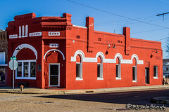 Cross County Bank | Wynne, Arkansas (M.J. Scanlon) Tags: wynne arkansas cross county bank business brick mortar old nostalgic history first wow scanlon canon 7d red small town tiny rural countryside country corner