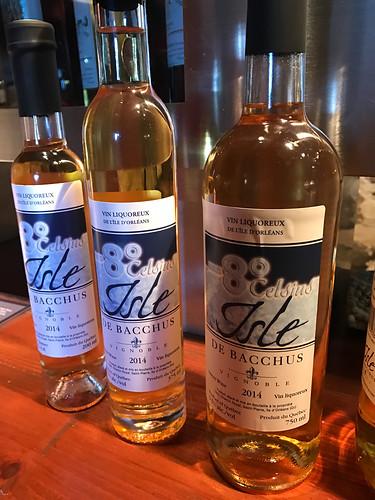 Isle de Bacchus Ice Wines