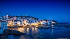 calella de palafrugell, Costa Brava (PedroSolitario) Tags: calella palafrugell costa brava blue azul hora sea sky puerto harbour