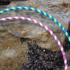 IMG_5884 (originalhotsauce) Tags: cornwall barnacles hulahoops stripes stripy