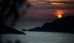 Sunset on Portovenere (Sandro Gherbassi 1968) Tags: sunset sun sea italy liguria cinque terre 5terre travel outdoor clouds seascape landscape island church
