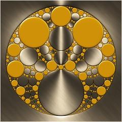 Solar Flare (Ross Hilbert) Tags: fractalsciencekit fractalgenerator fractalsoftware fractalapplication fractalart algorithmicart generativeart computerart mathart digitalart abstractart fractal chaos art kleinian circleinversion tiling orbittrap