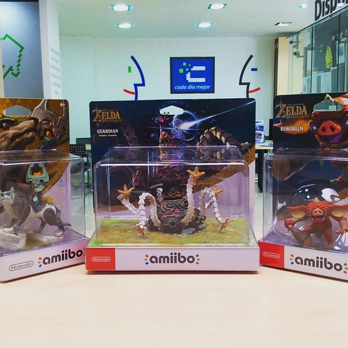 Ya disponibles en @compudemano lo nuevos amiibo de The Legend of Zelda para Nintendo. #game #amiibo #cadadiamejor. Visita nuestra tienda o llámanos Bogotá: (1) 381 9922 - Medellín: (4) 204 0707 - Cali (2) 891 2999 - Barranquilla: (5) 316 1300 - Pereira: (