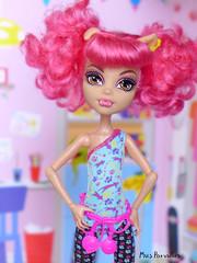 Dance Class Howleen (Mus Parvulus) Tags: monsterhigh mh howleen danceclass ikeaspexa doll