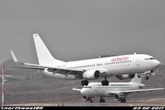 D-ABBD (northwest85) Tags: air berlin boeing 73786jwl dabbd landing runway 08 tenerife south ab ber tfs gcts