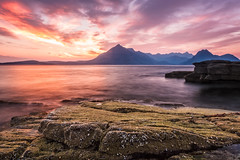 Cracking Sunset at Elgol (Stoates-Findhorn) Tags: sunset skye clouds scotland isleofskye unitedkingdom olympus le e5 cuillin elgol