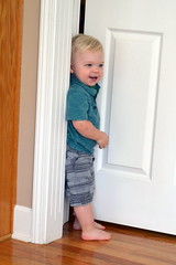 Titus squeezing in the corner (larrywkoester) Tags: corner titus squeezing
