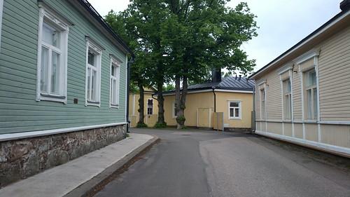 Wooden Hamina houses