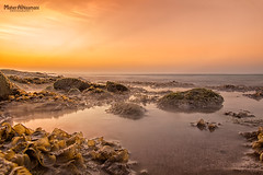 Beautiful Sunset from Athaiba beach! (mahernaamani) Tags: sunset sea summer sky sun seascape love beach nature water beautiful beauty stone canon wow landscape natural filter nd quite fullframe dust oman muscat waterscape 6d lowshutter lowexposure غروب الغروب عمان شاطئ طبيعة هدوء الشمس مسقط احبك كانون azaiba athaiba فول فريم canon6d فلتر لاندسكيب كانوني العذيبة