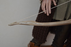 Etsy commission - Lorien bow (x Ice Wolf x) Tags: shop movie doll handmade ooak eid sd bow sword bjd etsy saga hobbit commission thorin legolas thehobbit tdw elven lorien orcrist handpaintd thedarkwood