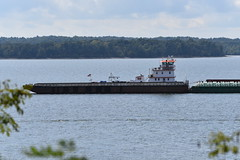 MV William Hank-TVT (Porch Dog) Tags: river cloudy kentucky september fx tennesseeriver barges towboat 2015 kentuckylake tvt garywhittington tennesseevalleytowing nikond750 nikon200500mm mvwilliamhank