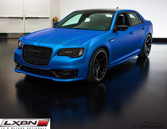 Chrysler 300 Super S (scott597) Tags: blue s super chrysler mopar sema 300 matte cerulean sema2015