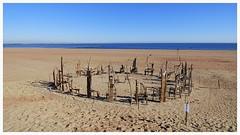 Empty Chairs (JeffKWW) Tags: nyc ny newyork beach sandy si richmond statenisland newyorkny scottlobaido 10292012 sandymemorial