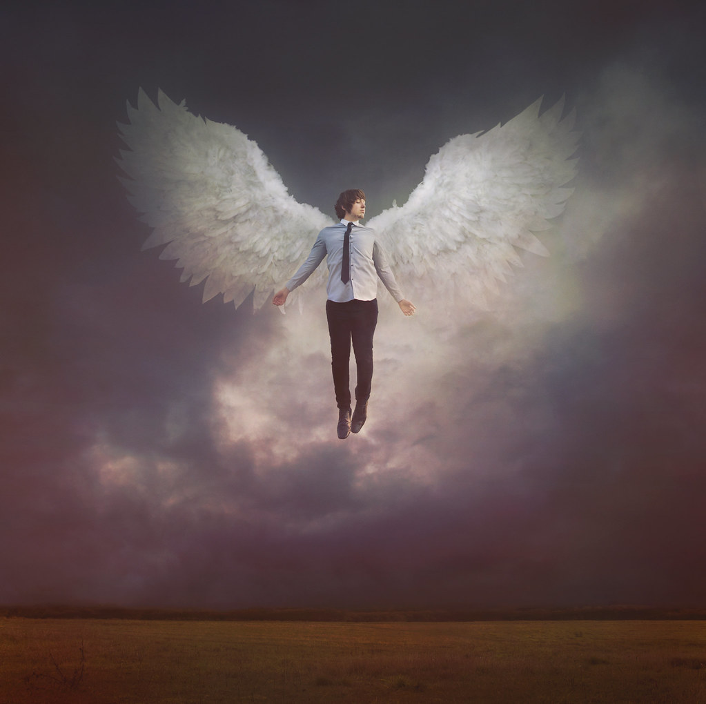 Lucifer With His Wings: The World's Best Photos Of Lucifer And Photoshop