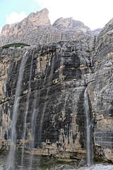 Wodospad w pobliżu Scala Minighel
