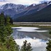 Mountain Reflections on the Athabasca River (Jasper National Park)