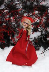 snow2 (tehhishek) Tags: november winter red monster high december darkness ooak story american horror custom blizzard bullfinch the countess bloodgood headmistress