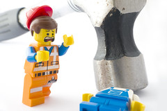 I'm not filling out the incident form for this one (tomtommilton) Tags: macro hammer toy toys photo pain hurt play lego accident head joke injury panic photograph squash minifig minifigs supermacro tool builder headache workman handyman minifigure emmet afol minifigures legomovie