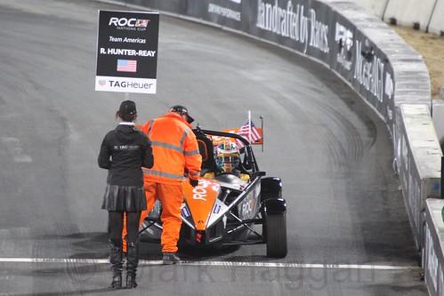 Ryan Hunter-Reay in The Race of Champions, Olympic Stadium, London, November 2015