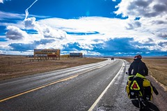 Lots of great deals to be had here on Hwy#287. (letsridebikes.ca) Tags: usa wyoming ftcollins 102315